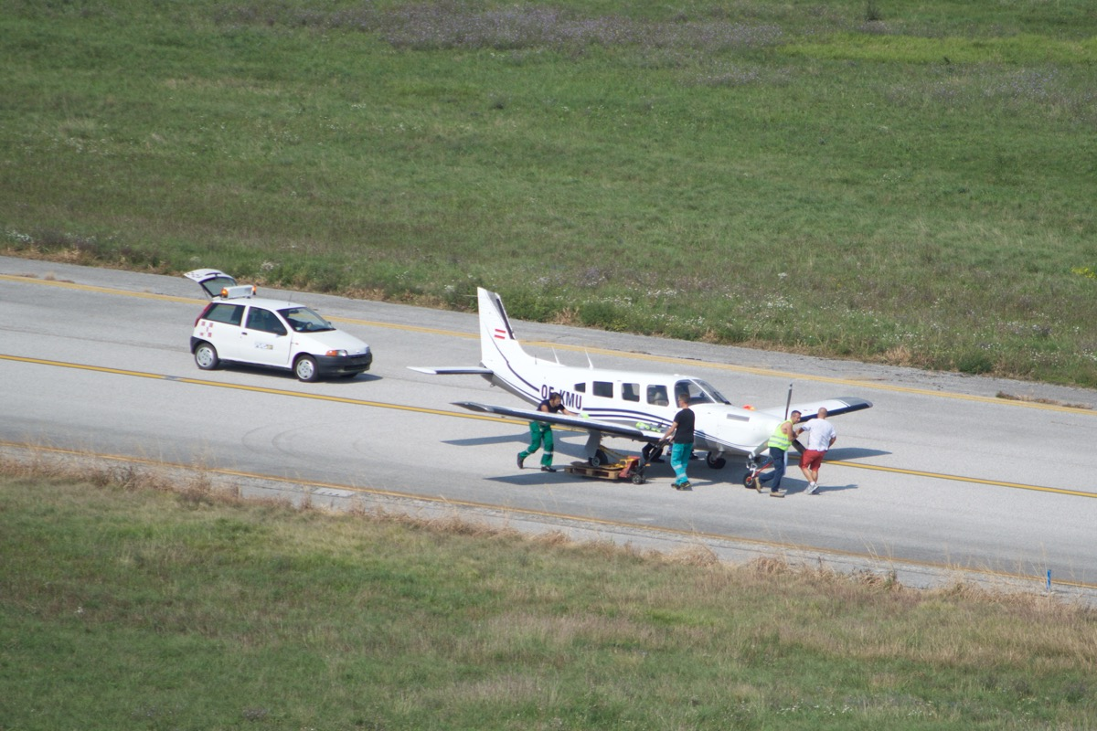 Specials - PA-32 OE-KMU accident